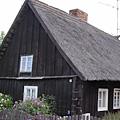 Spreewaldtypisches Blockbohlenhaus